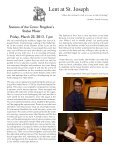 March 17, 2013 Bulletin - St. Joseph Parish - Page 4