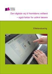 Den digitale vej til fremtidens velfærd - Viden om Læsning