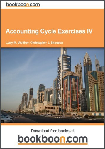 Accounting Cycle Exercises IV - NUR Repository