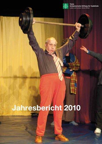 Jahresbericht 2010 - Tanne