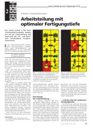 Arbeitsteilung mit optimaler Fertigungstiefe. Wald ... - Waldwissen.net