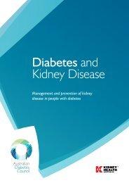 Diabetes and Kidney Disease - Australian Diabetes Council