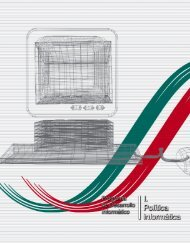 Programa de desarrollo informático. - Secretaría de Relaciones ...