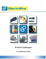 ElectriPro Product Catalogue 40 Pages - Ontario Westburne