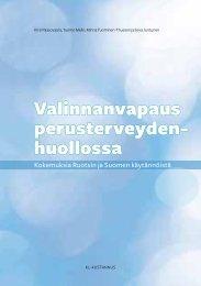 Kokemuksia Ruotsin ja Suomen käytännöistä - Sitra