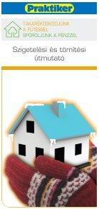 Tipp füzet - Hőszigetelés - Praktiker - Page 2