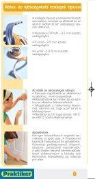 Tipp füzet - Hőszigetelés - Praktiker - Page 7