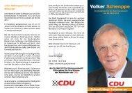 Kandidatenflyer (pdf-Dokument) - CDU Norderstedt