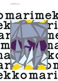 Marimekko_Tilinpäätös 2012.pdf - GlobeNewswire
