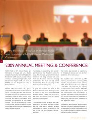2009 ANNUAL MEETING & CONFERENCE: FOCUS O - NCARB
