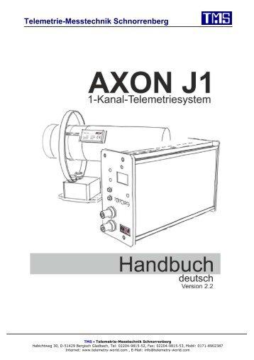 J1, Handbuch (pdf) - TMS · Telemetrie-Messtechnik Schnorrenberg