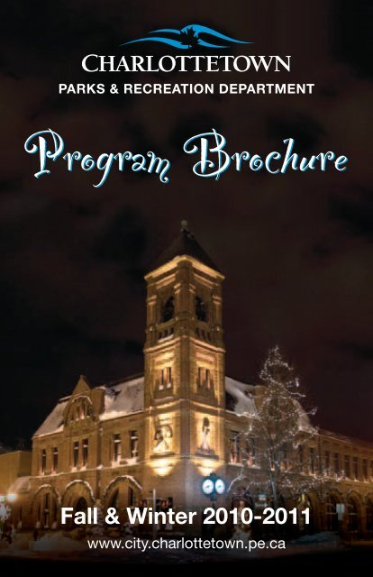 Program Brochure - City of Charlottetown