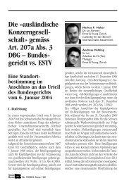 schaft» gemäss Art. 207a Abs. 3 DBG - Schweiz