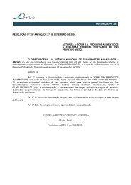 Resolução nº 297 - Antaq