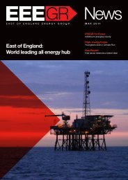 May 2011 - East of England Energy Group