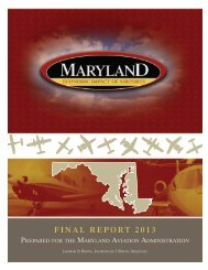 Economic Impact of Airports - St. Marys County
