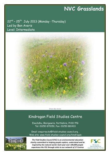 Full Course Details - Field Studies Council