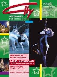 X-MAS SHOWDOWN - CITY Stadtmagazin