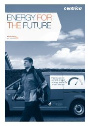 Download the 2010 Annual report and accounts PDF - Centrica