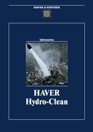 PM 218 E Hydro-clean 03/04 - Haver & Boecker