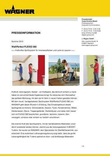 WAGNER_WallPerfect Flexio 585_2013 - WAGNER-Group