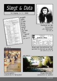 2000-3 slægt & data.pdf - DIS-Danmark