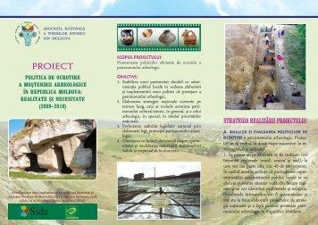 PROIECT - Asociatia Tinerilor Istorici din Moldova