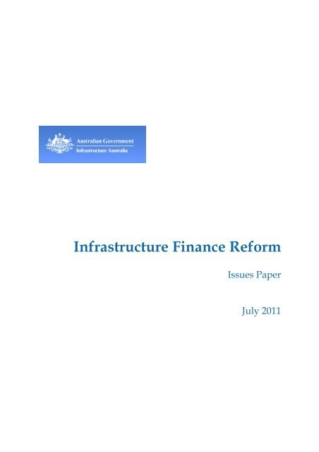 PDF: 320 KB - Infrastructure Australia