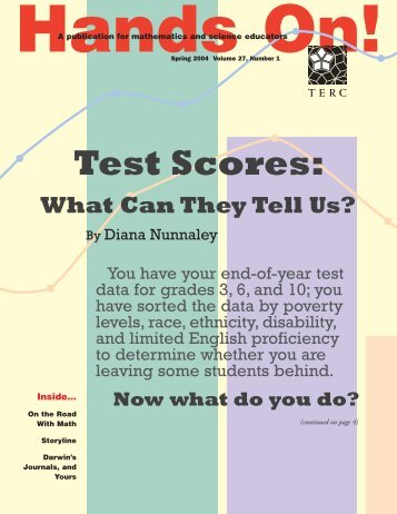 Test Scores: What Can They Tell Us? - CCSSO projects - Council of ...