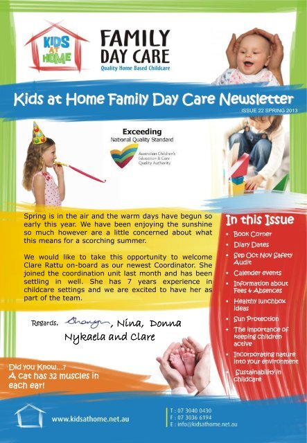 Kids at Home Newsletter – Winter 2013 - Kids at Home - Family Day ...