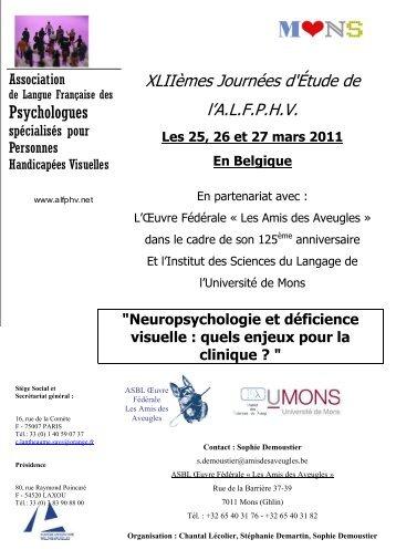 Programme - Université de Mons