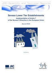 Seveso Lower Tier Establishments Implementation ... - IPSC - Europa