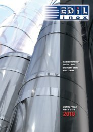 Brochure EDILFLEX EdilInox - Guida Edilizia