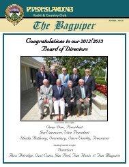 April 2012 Bagpiper - Piper's Landing Golf & Country Club