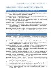 publikationen ferrauti (nur erstautorenschaften) - Ruhr-Universität ...