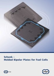Schunk – Molded Bipolar Plates for Fuel Cells