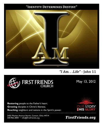 May 13, 2012 - First Friends Church
