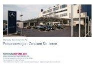 Personenwagen-Zentrum Schlieren - Mercedes-Benz Automobil AG