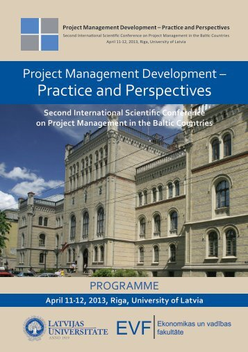 Programme of the Conference .pdf - EVF