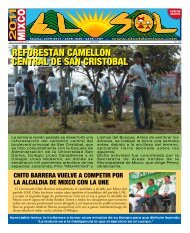 reforestan camellon central de san cristobal ... - ElsoldeMixco.com