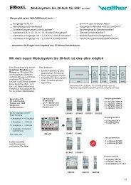 Modulsystem bis 20-fach für EIB® als REG Mit dem ... - Eibmarkt