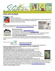 VISUAL ARTS CALENDAR - City Of Ventura