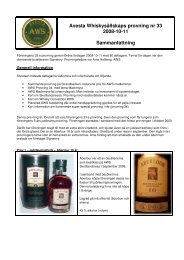 P33 - Avesta Whiskysällskap