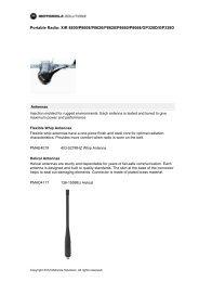 Portable Radio: XiR 8600/P8608/P8620/P8628/P8660/P8668 ...