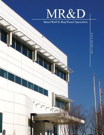 Metal Wall & Roof Panel Specialists - M R and D