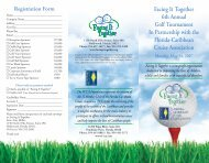 Facing It Together 6th Annual Golf Tournament In Partnership with ...
