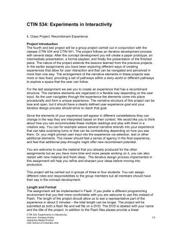 CTIN_534_4_assignment - USC Interactive Media Division