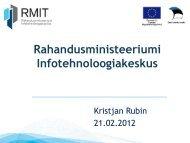 RMIT. Rahandusministeeriumi Infotehnoloogiakeskus