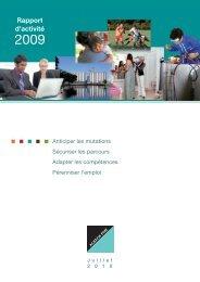 Rapport d'activité 2009 (4 Mo) - Agefos PME