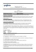 Bezpečnostní list AMISTAR OPTI - Page 6